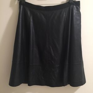 JASON WU, MISS WU LEATHER SKIRT. BRAND RUNS SMALL!